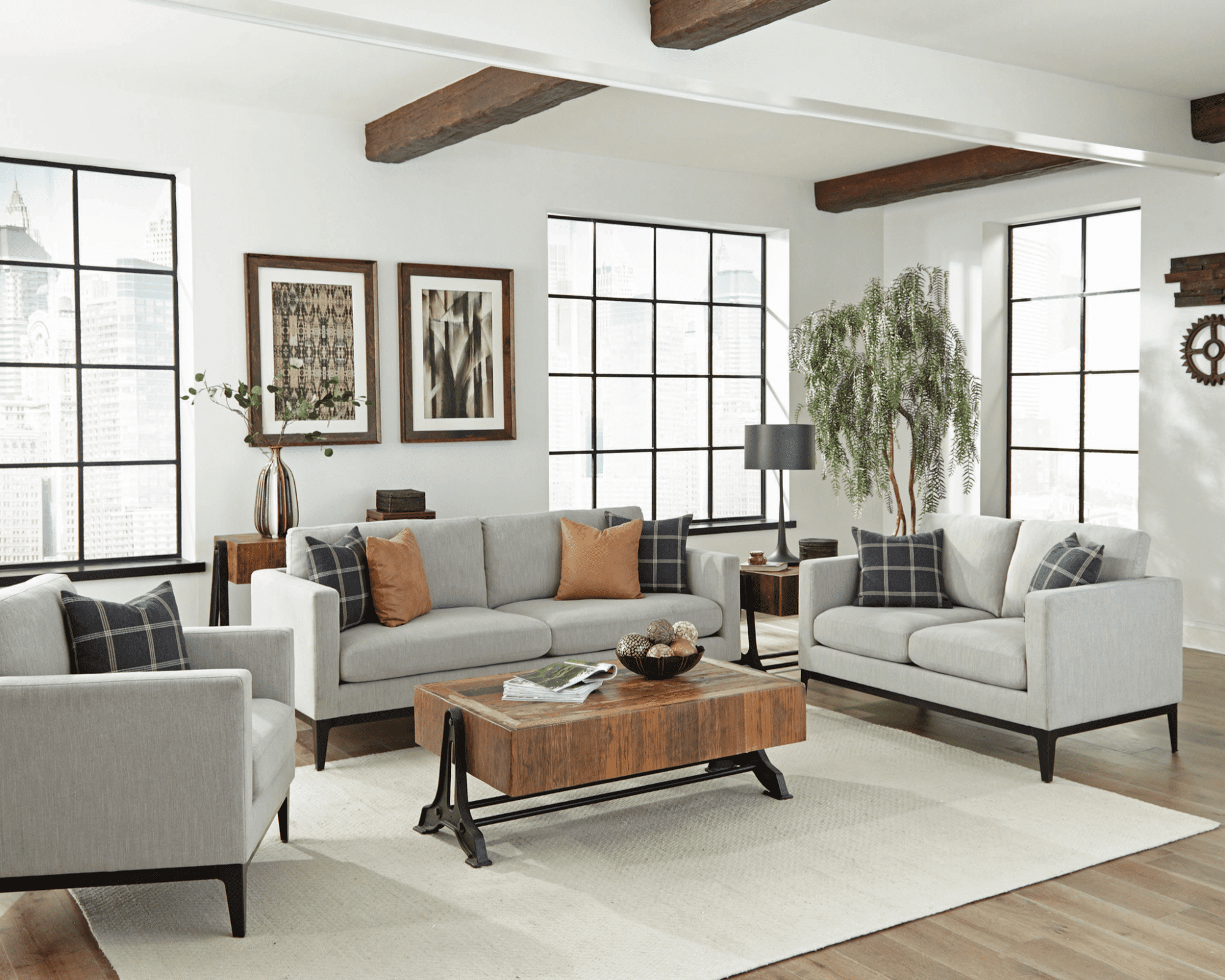 Modern living room ideas How to combine fun with functional