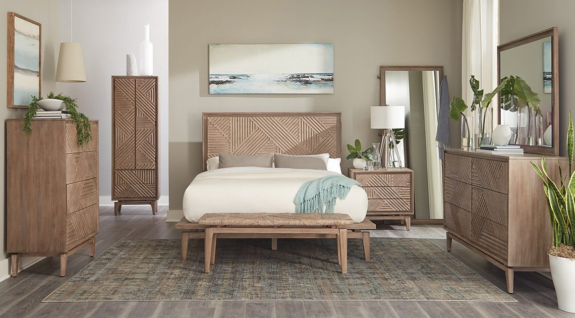 Make your bedroom a vacation paradise