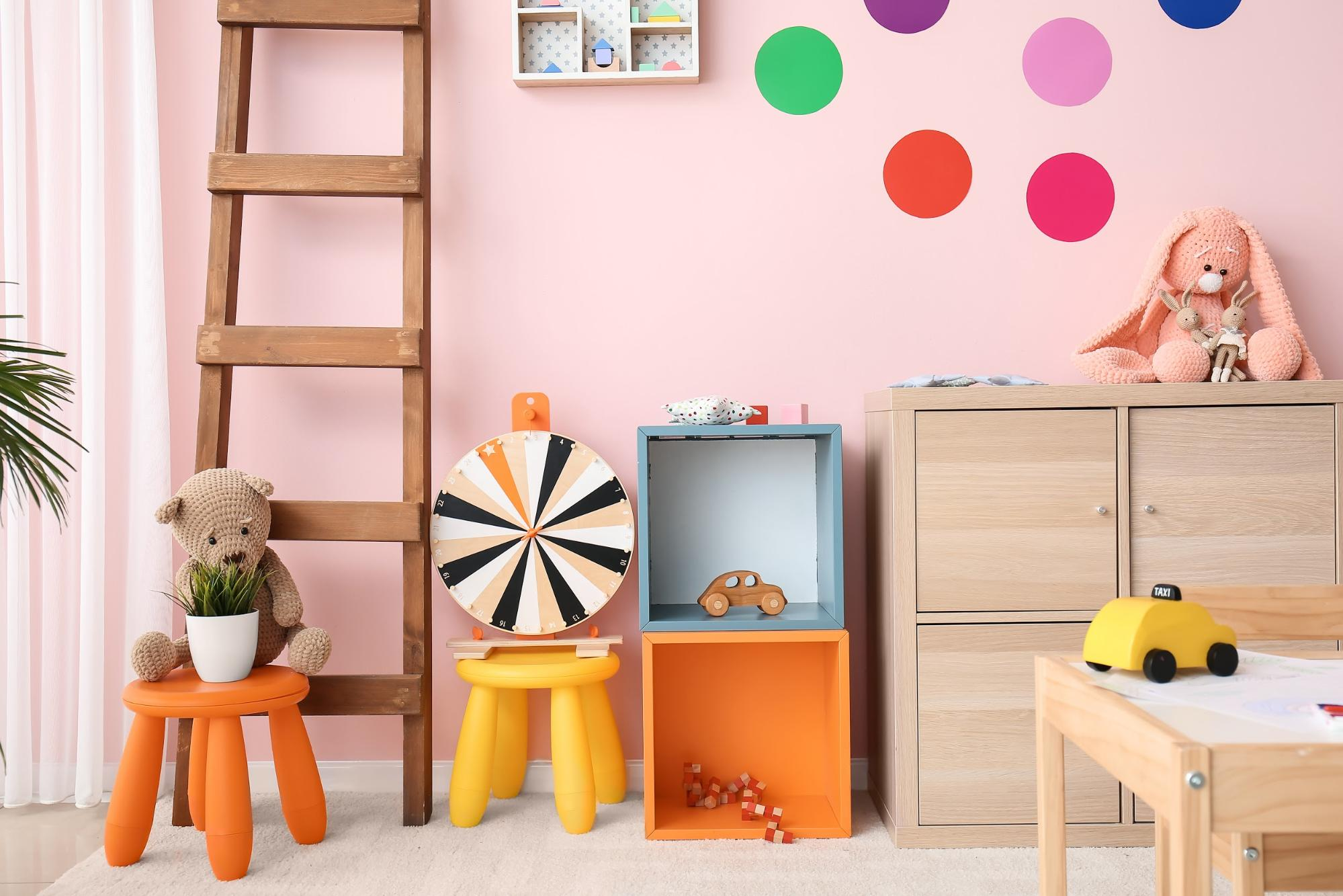 Play All Day: 51 Fun and Funky Playroom Ideas for Your Kiddo