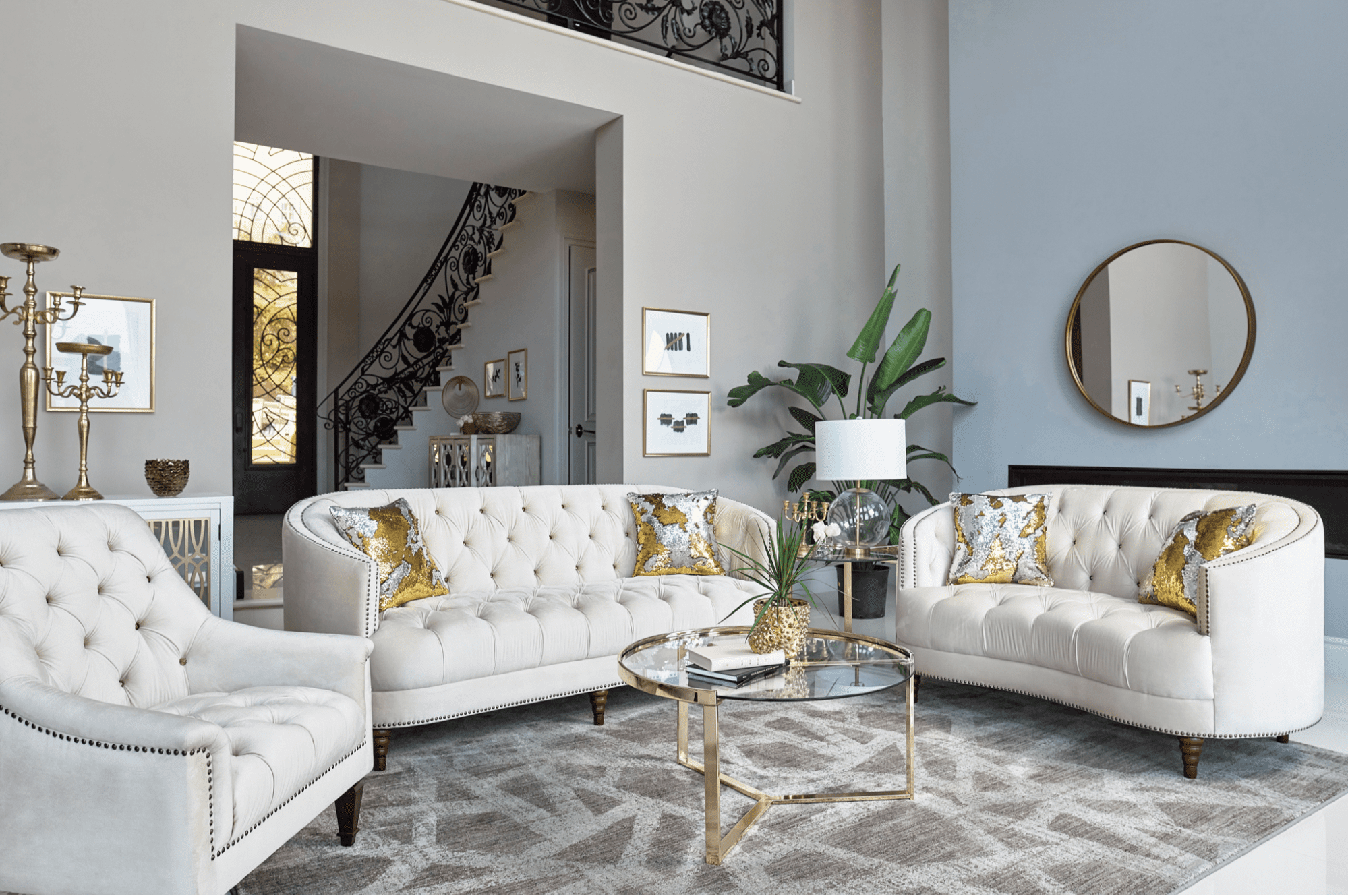 11 round coffee tables to bring your home decor full circle