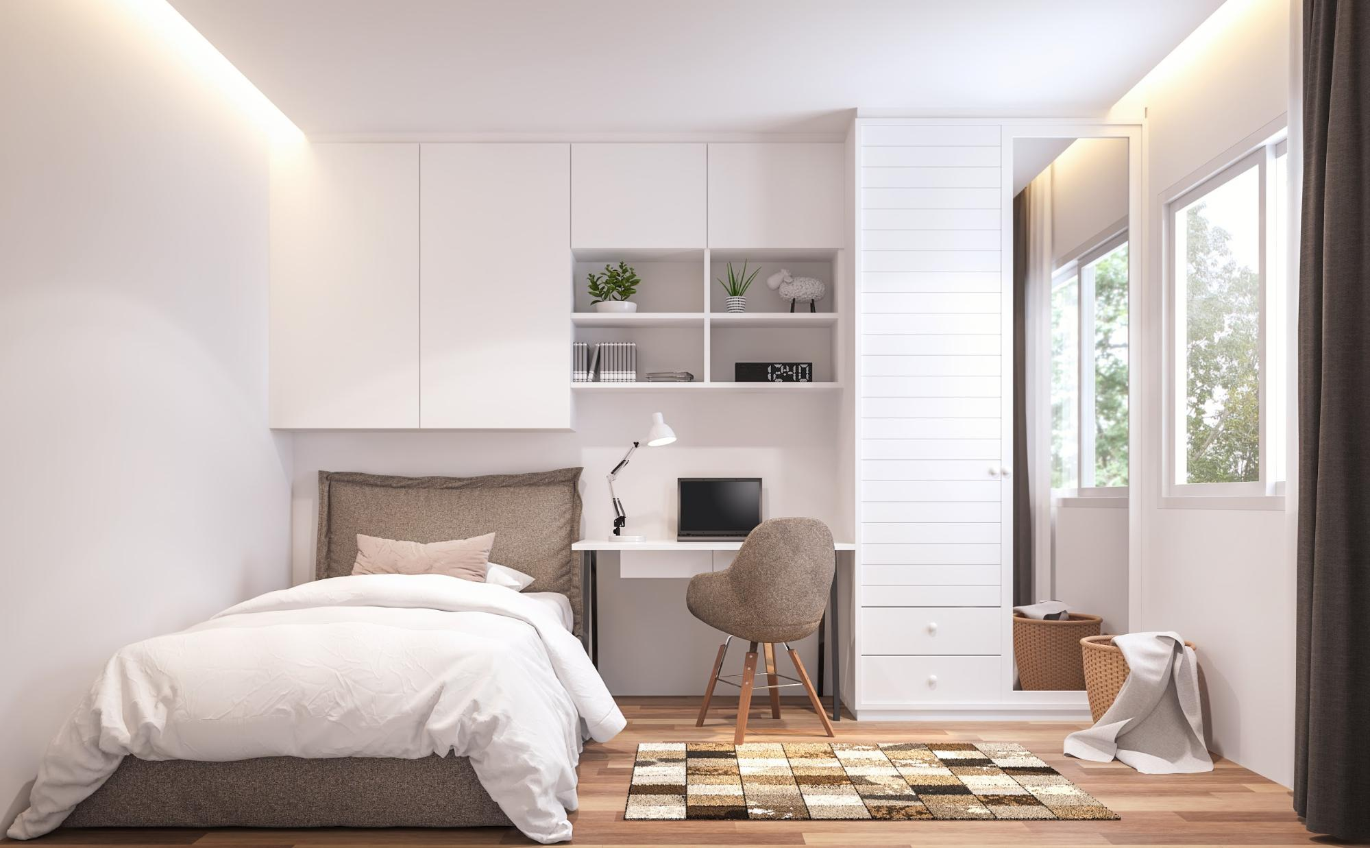 You might have limited space, but you have unlimited options. Reclaim your space (and your sanity) with these small bedroom storage ideas.