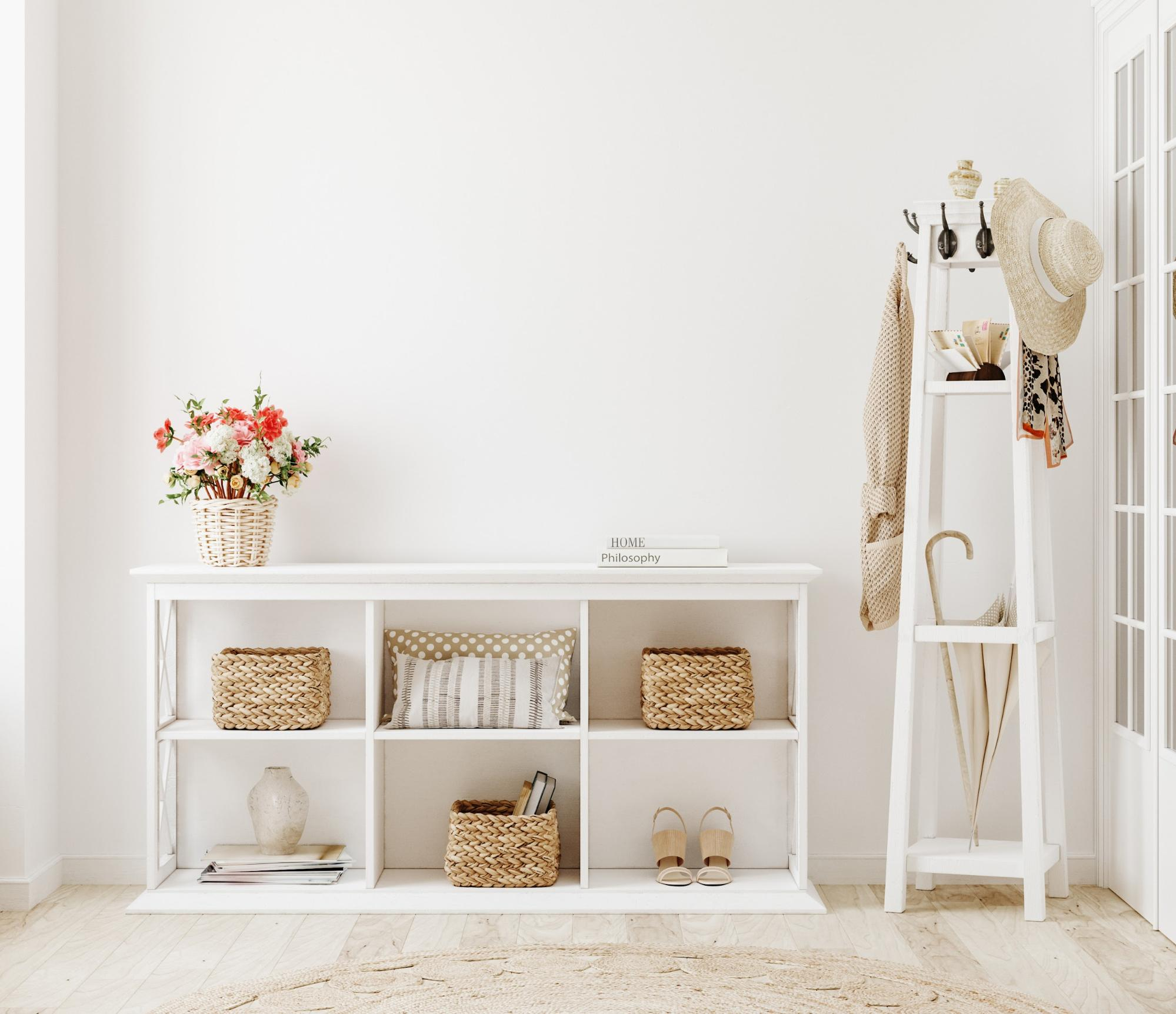 How to choose (and style) entryway furniture for your space