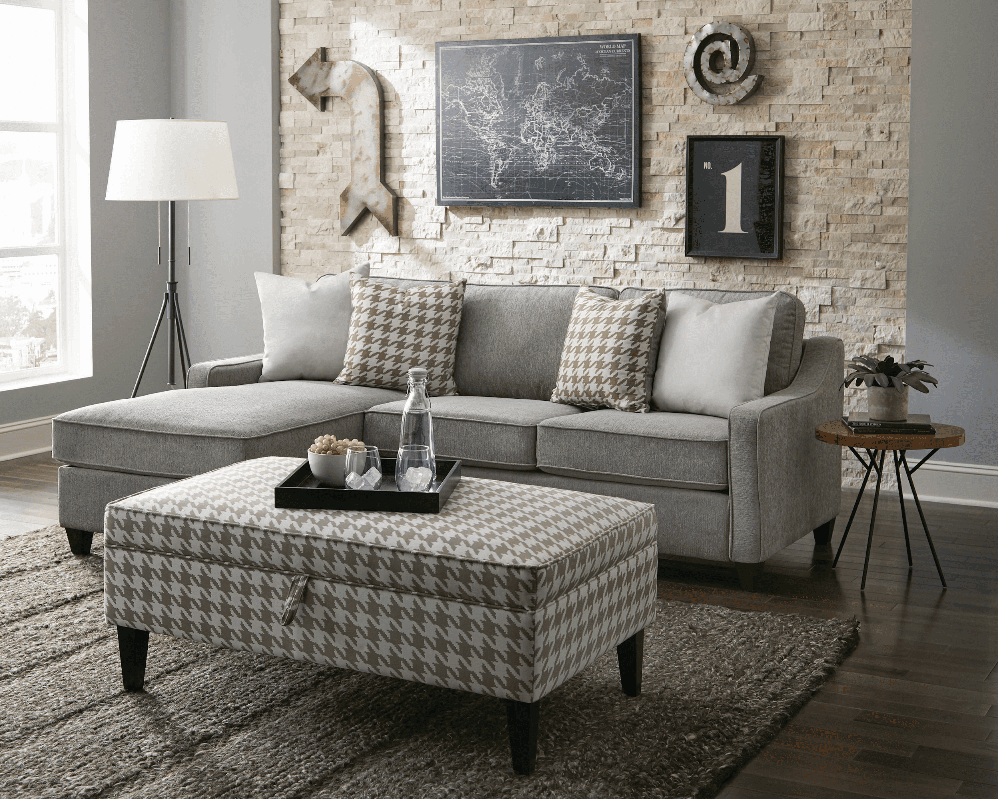 How to pick a small sectional sofa for a small space