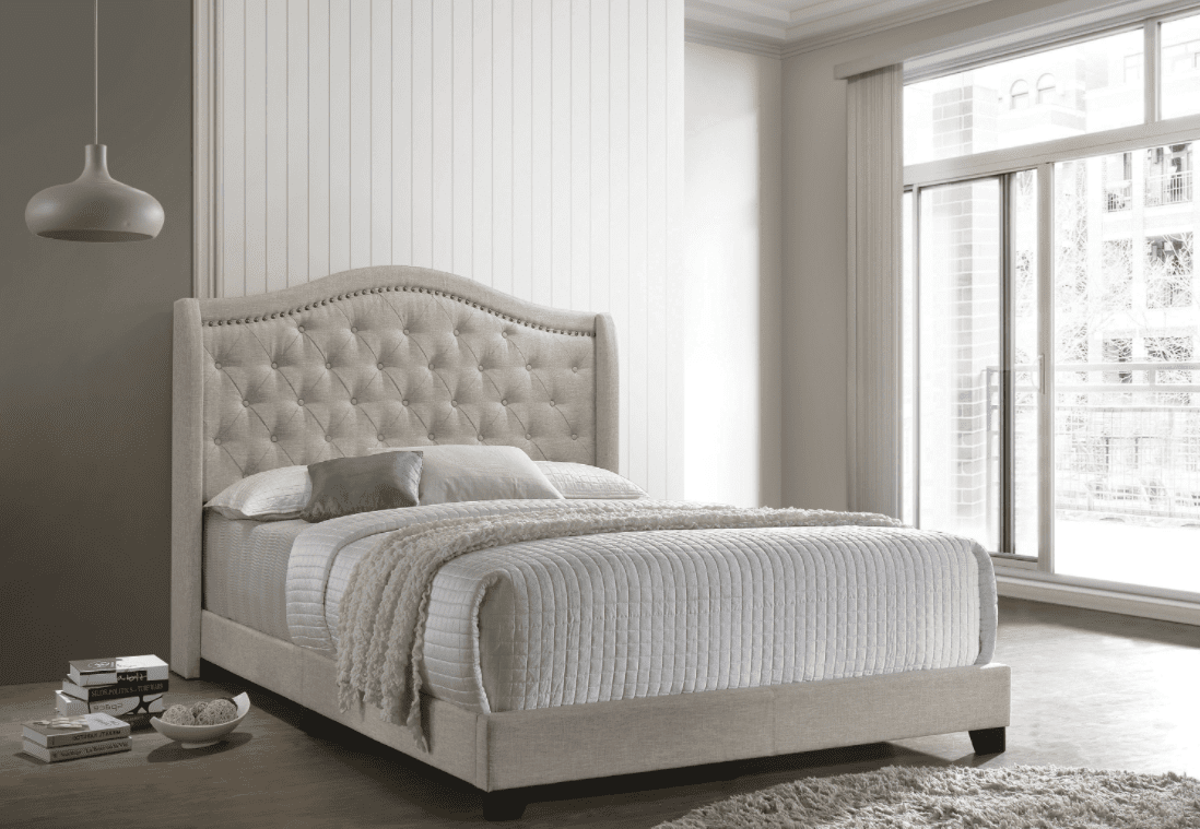 Change your space with these stunning tufted headboards