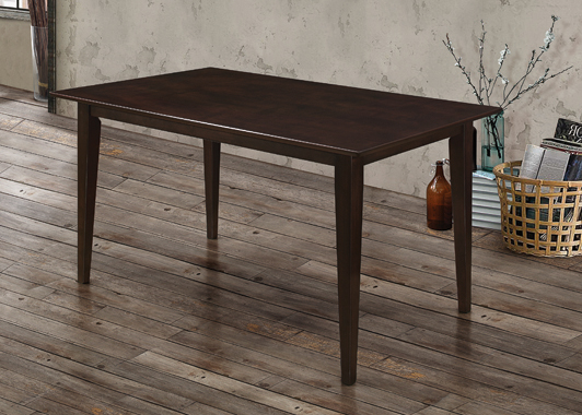 Gabriel Rectangular Dining Table Cappuccino - Hover