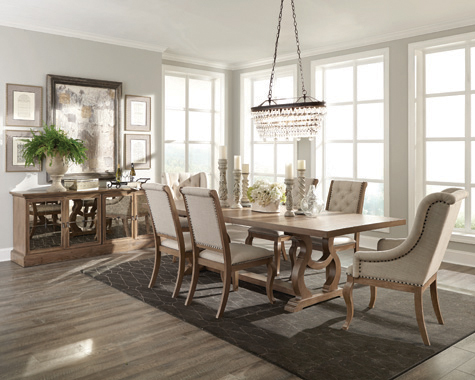 Brockway Cove Tufted Side Chairs Cream and Barley Brown (Set of 2) - Hover