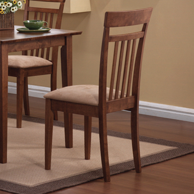 5-piece Dining Set Chestnut and Tan - Hover
