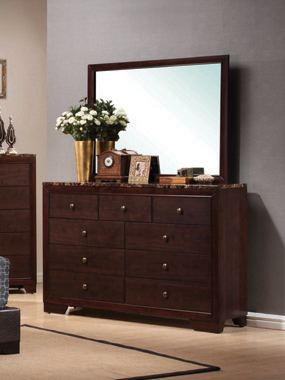 Conner 9-drawer Rectangular Dresser Cappuccino - Hover