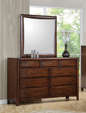 Hillary 9-drawer Dresser Warm Brown - Hover