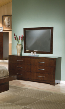 Jessica 6-drawer Dresser Cappuccino - Hover