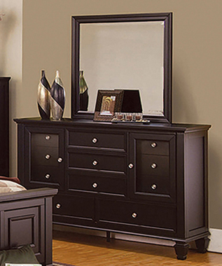 Sandy Beach 11-drawer Dresser Cappuccino - Hover