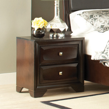 Jaxson 2-drawer Rectangular Nightstand Cappuccino - Hover