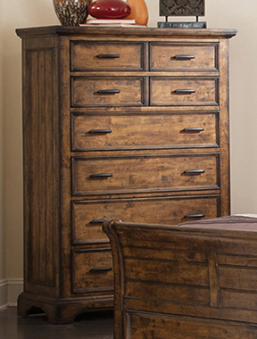 Elk Grove 7-drawer Chest Vintage Bourbon - Hover