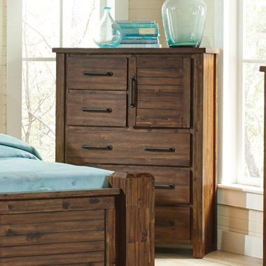 Sutter Creek 5-drawer Chest Vintage Bourbon
