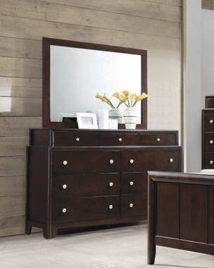 Madison 9-drawer Dresser Dark Merlot - Hover