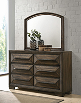 Preston 6-drawer Dresser Rustic Chestnut - Hover