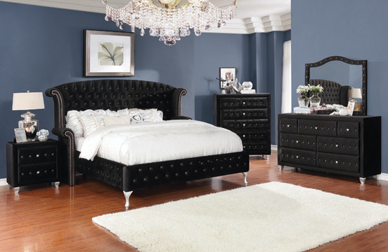 Deanna   Bedroom Set Black