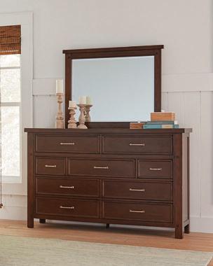 Barstow 9-drawer Rectangular Dresser Pinot Noir - Hover