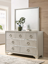Salford 7-drawer Dresser Metallic Sterling - Hover