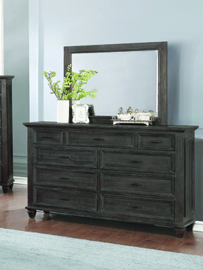 Atascadero 9-drawer Dresser Weathered Carbon - Hover