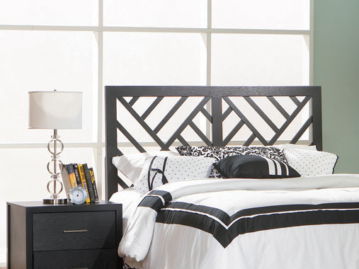 Grove Full Headboard Black