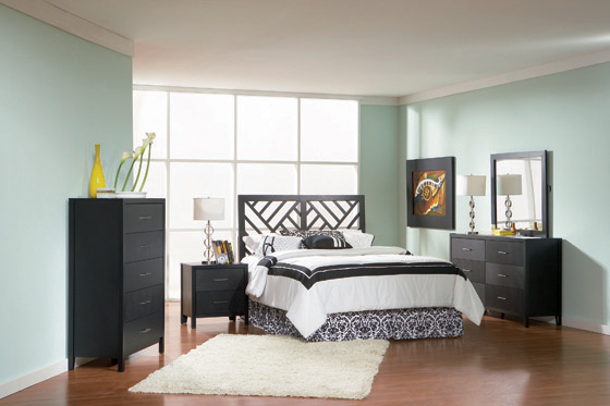 Grove Full Headboard Black - Hover