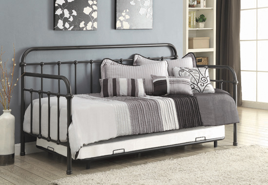 Daybed with Trundle Dark Bronze - Hover