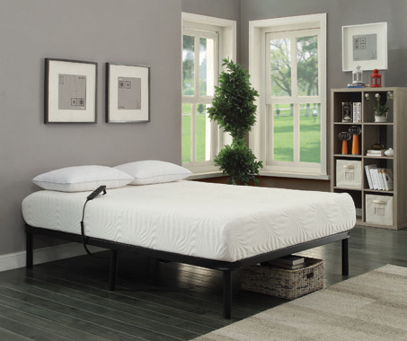 Stanhope Queen Adjustable Bed Base Black - Hover