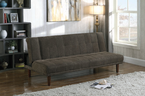 Joan Upholstered Sofa Bed Moss - Hover