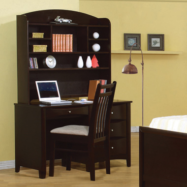 Phoenix Hutch with Shelves Cappuccino - Hover
