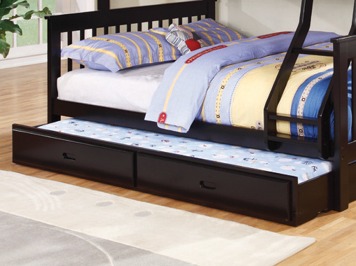 Chapman Storage Trundle Black