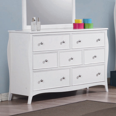 Dominique 7-drawer Dresser White - Hover