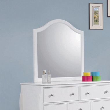 Dominique Dresser Mirror White - Hover