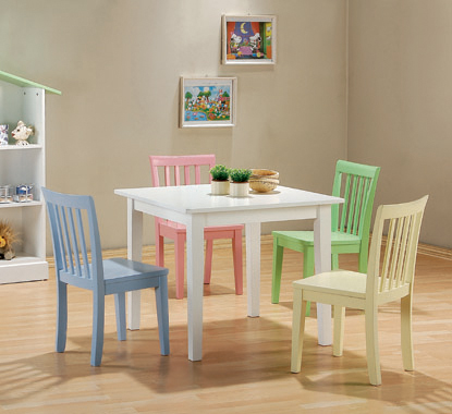 Rory 5-piece Dining Set Multi Color