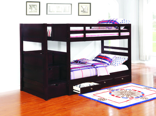 Elliott 3-drawer Under Bed Storage Cappuccino - Hover
