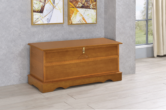Rectangular Cedar Chest Honey - Hover