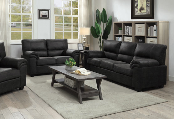 Ballard Pillow Top Upholstered Sofa Charcoal - Hover