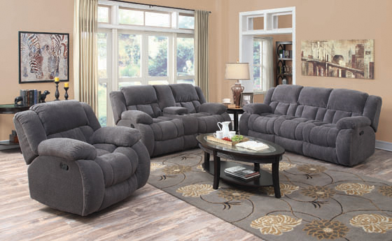 Weissman Pillow Top Arm Motion Sofa Charcoal - Hover