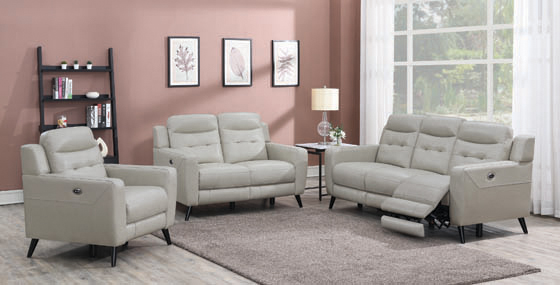 Lantana 3-piece Power Living Room Set Beige