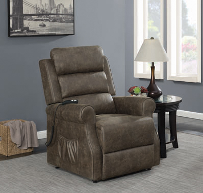 Power Lift Recliner Brown - Hover