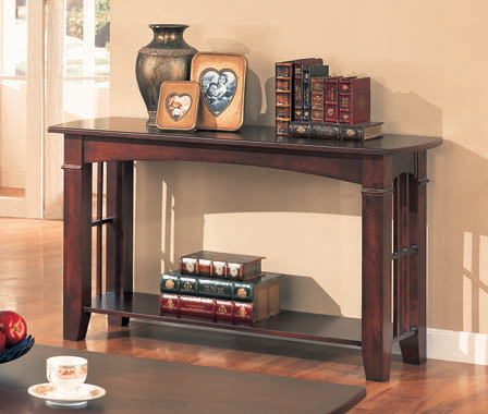 Abernathy Cherry Sofa Table
