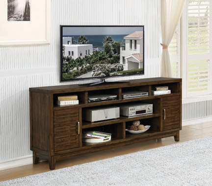 2-door Rectangular TV Console Rustic Mindy - Hover