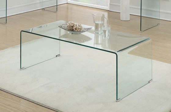 Rectangular Coffee Table Clear - Hover