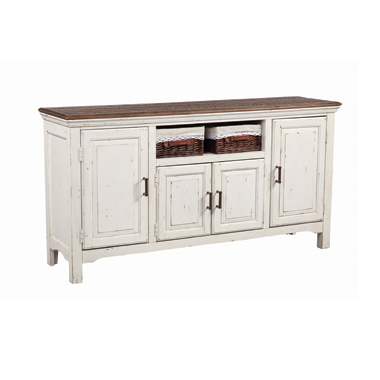 Simpson 4-door Server Vintage Latte and White