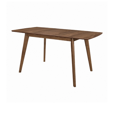 Alfredo Rectangular Dining Table Natural Walnut