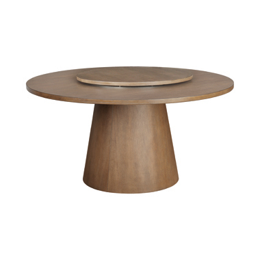 Beverly Round Lazy Susan Dark Cocoa