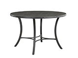 5-piece Dining Set with Upholstered Chairs Matte Black and Grey