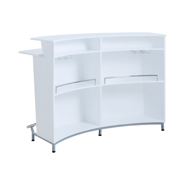 3-tier Bar Unit Glossy White