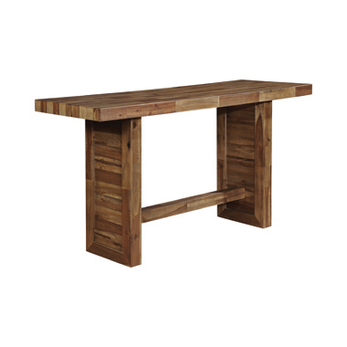 Rectangular Bar Table Varied Natural