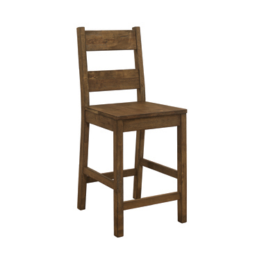 Coleman Counter Height Stools Rustic Golden Brown (Set of 2)
